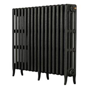 Arroll 4 Column Cast Iron Radiator 874 X 760 - Black