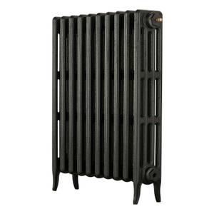 Arroll 4 Column Cast Iron Radiator 754 X 760 - Black