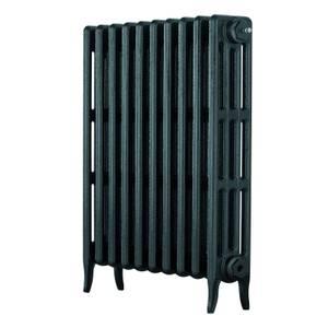 Arroll 4 Column Cast Iron Radiator 754 X 760 - Anthracite