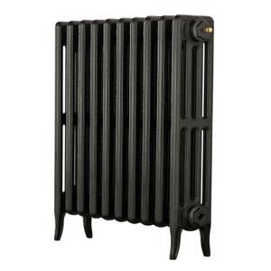 Arroll 4 Column Cast Iron Radiator 634 X 660 - Black