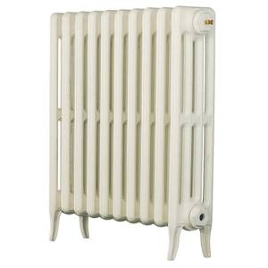Arroll 4 Column Cast Iron Radiator 634 X 660 - White
