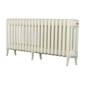 Arroll 4 Column Cast Iron Radiator 1234 X 460 - White