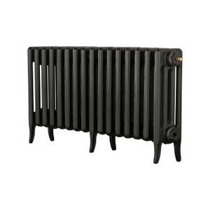 Arroll 4 Column Cast Iron Radiator 994 X 460 - Black