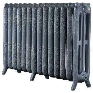 Arroll Cast Iron Radiator 1168 X 760 - Cast Grey