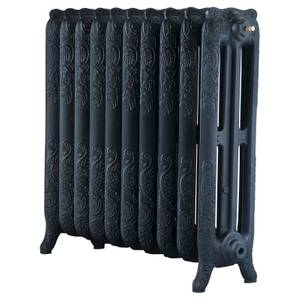 Arroll Cast Iron Radiator 844 X 760 - Black