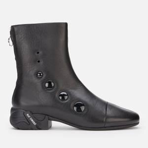 Raf Simons Men's 2001 Leather Boots - Black