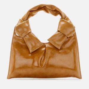 Little Liffner Women's Knot Evening Bag - Tan