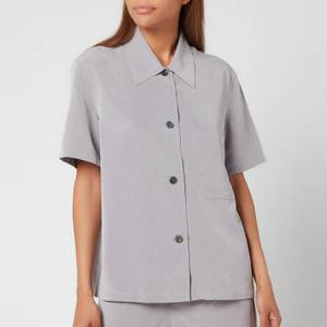 Our Legacy Women's Short Sleeve Square Shirt - Grey