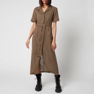 Our Legacy Women's Narrow Shirt Dress - Khaki