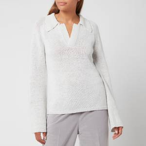 Our Legacy Women's Knitted Polo Longsleeve - White