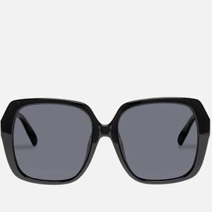Le Specs Women's Frofro Oversized Sunglasses - Black