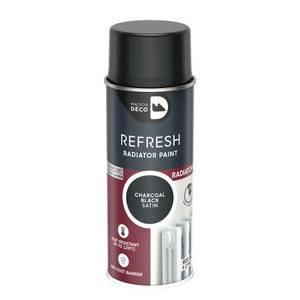 Maison Deco Refresh Radiator Spray Paint Charcoal Black 400ml