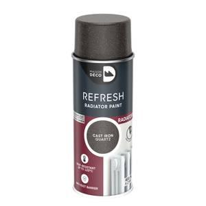 Maison Deco Refresh Radiator Spray Paint Cast Iron Qtz 400Ml