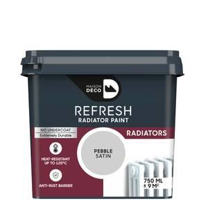 Maison Deco Refresh Radiator Paint Pebble 750ml