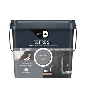 Maison Deco Refresh Kitchen & Bathroom Coating Mineral Concrete Effect 9Kg