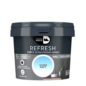 Maison Deco Refresh Coating Extra Strong Varnish Clear 500ml