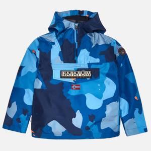 Napapijri Boys' Camo Jacket - Navy
