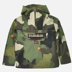 Napapijri Boys' Camo Jacket - Khaki