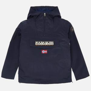 Napapijri Boys' Rainforest Hooded Jacket - Navy