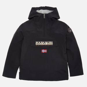 Napapijri Boys' Rainforest Hooded Jacket - Black