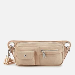 HVISK Women's Brillay Sheer Hip/Cross Body Bag - Beige