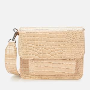 HVISK Women's Cayman Pocket Cross Body Bag - Light Beige