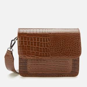 HVISK Women's Cayman Pocket Cross Body Bag - Brownish