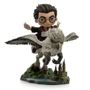 Iron Studios Harry Potter Mini Co. Illusion PVC Figure Harry Potter & Buckbeak 16 cm