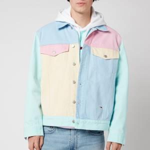 Tommy Jeans Men's Colorblock Denim Jacket - Multi