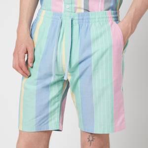 Tommy Jeans Men's Stripe 2 Shorts - Romantic Pink Multi