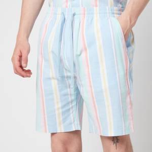 Tommy Jeans Men's Stripe 1 Shorts - Light Powdery Blue Multi