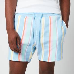 Tommy Jeans Men's Stripe Sweatshorts - Light Powdery Blue Multi