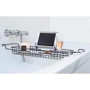 Iron Black Bath Tub Caddy