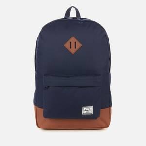 Herschel Supply Co. Men's Heritage Backpack - Peacoat/Saddle Brown
