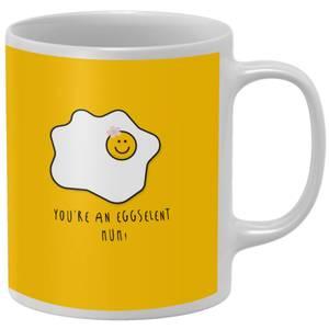 You're An Eggselent Mum! Mug