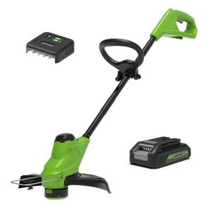 24V 30cm Line Trimmer with Battery and Charger