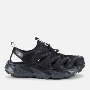 Hoka One One Men's Hopara Sandals - Black/Dark Shadow