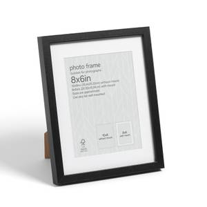 "Box Photo Frame - 8x6"" - Black"