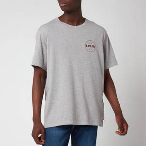 Levi's Men's Relaxed Fit Circle Logo T-Shirt - Heather Grey