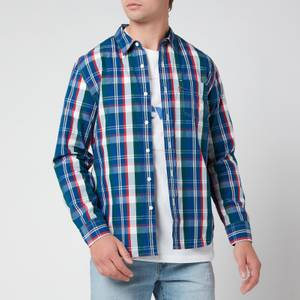 Levi's Men's Slim Fit One Pocket Shirt - True Red