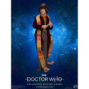 Figurine Doctor Who 4ème Docteur - Edition Collector - Echelle 1:6 Scale - Exclusivité Zavvi