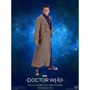 Figurine Doctor Who 10ème Docteur - Edition Collector - Echelle 1:6 Scale - Exclusivité Zavvi