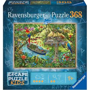 Escape Jigsaw Puzzle Kids - Jungle (368 Pieces)