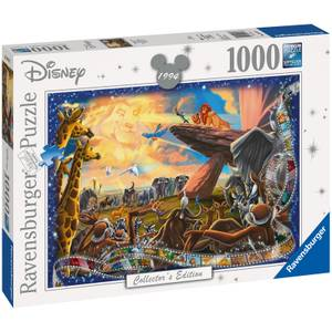 Disney Collector's Edition Lion King Jigsaw Puzzle (1000 Pieces)