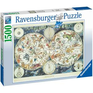 World Map Jigsaw Puzzle (1500 Pieces)