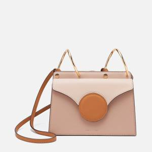 Danse Lente Women's Mini Phoebe Cross Body Bag - Cashew/Camel