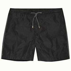 Orlebar Brown Men's Bulldog Drawcord Swim Shorts - Black