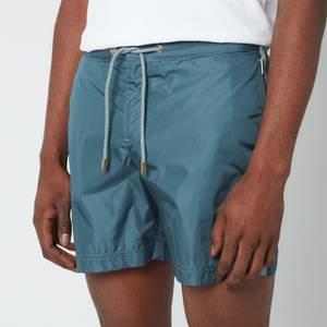 Orlebar Brown Men's Bulldog Drawcord Swim Shorts - Mineral