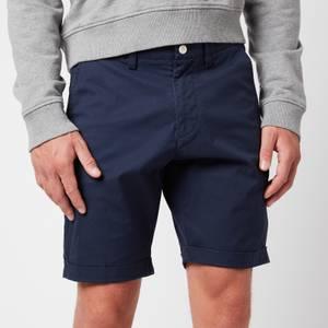 GANT Men's Regular Sunfaded Shorts - Marine
