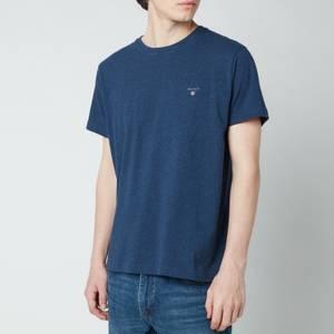 GANT Men's Original T-Shirt - Marine Melange